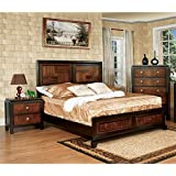 Furniture Of America Delia 2 Piece Full Bedroom Set In Aciacia