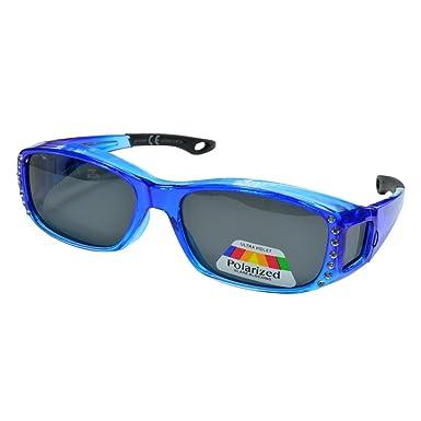 31501903 UV400 Überzieh Überbrille Polarisierte Fit over Sonnenbrille Überziehbrille Blau 5YR3Z