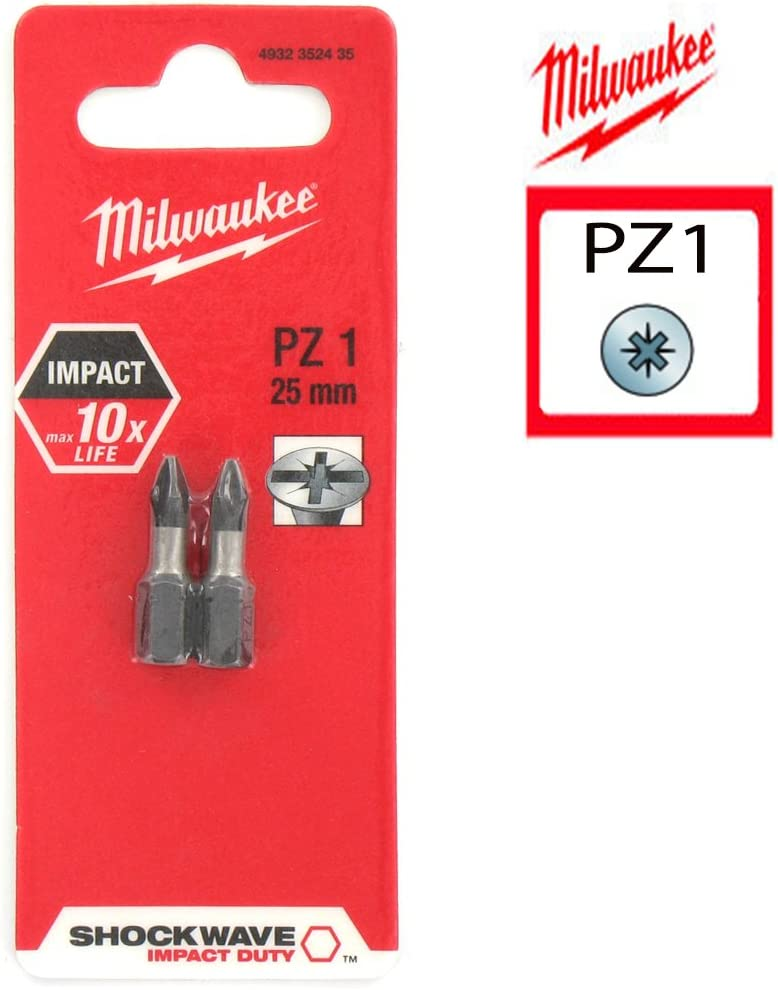 Milwaukee Mil2352435/Embouts et Supports