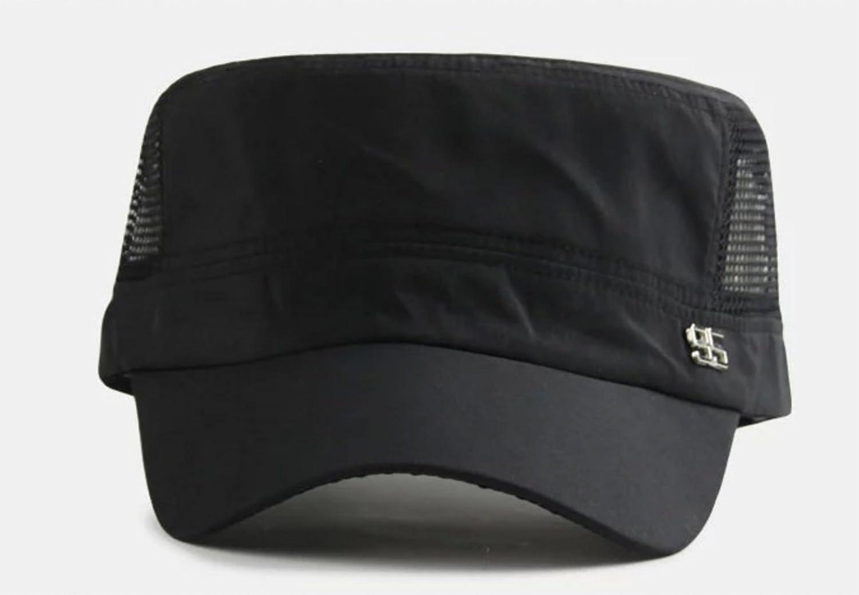 Elonglin Unisex Army Cap Sun Baseball Cadet Combat Military Hat Trucker