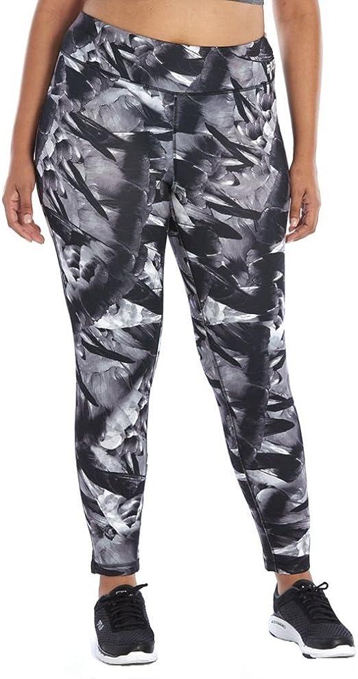 Plus Size Printed Fleece Leggings (3X
