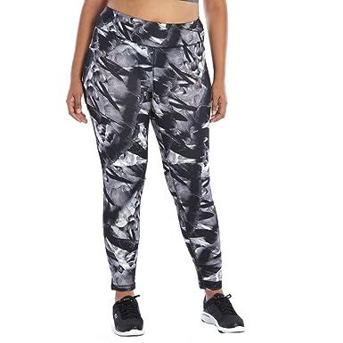 fcdf1d1c6f606 Amazon.com  Fila Sport Women s Plus Size Printed Fleece Leggings (3X ...