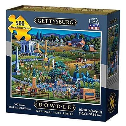 Amazon com: Dowdle Jigsaw Puzzle - Gettysburg - 500 Piece