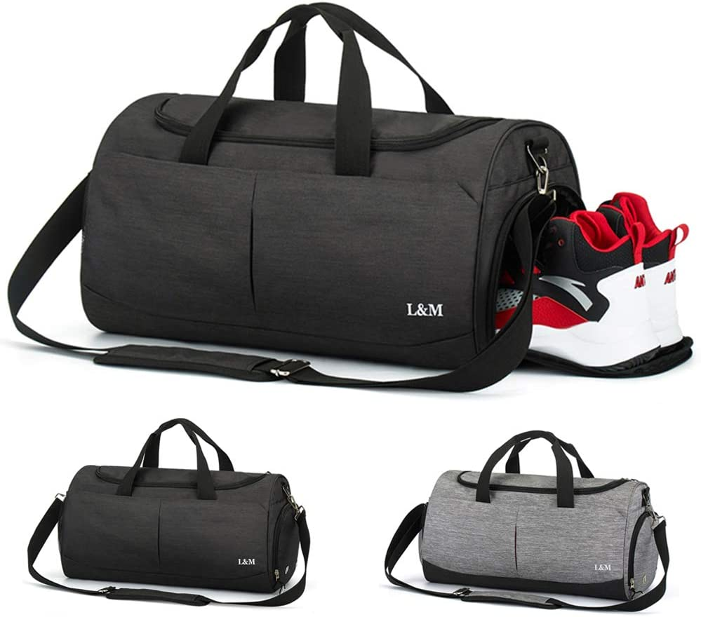 VLikeze Faltbare Reisetasche Sporttasche Training Handtasche wasserdichte Duffle Bag mit Schuhfach /& Nasstasche Reisetasche Gep/äcktasche f/ür Damen und Herren