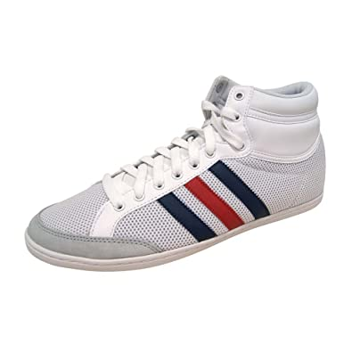adidas Plimcana Mid, Chaussures basses homme, blanco