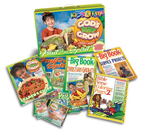 Price comparison product image KidsTime God's Kids Grow Kit: 52 Lessons, nearly all materials are reproducible! Uses fun methods to teach Bible stories that kids love to do! (KidsTime Full Year Programs)