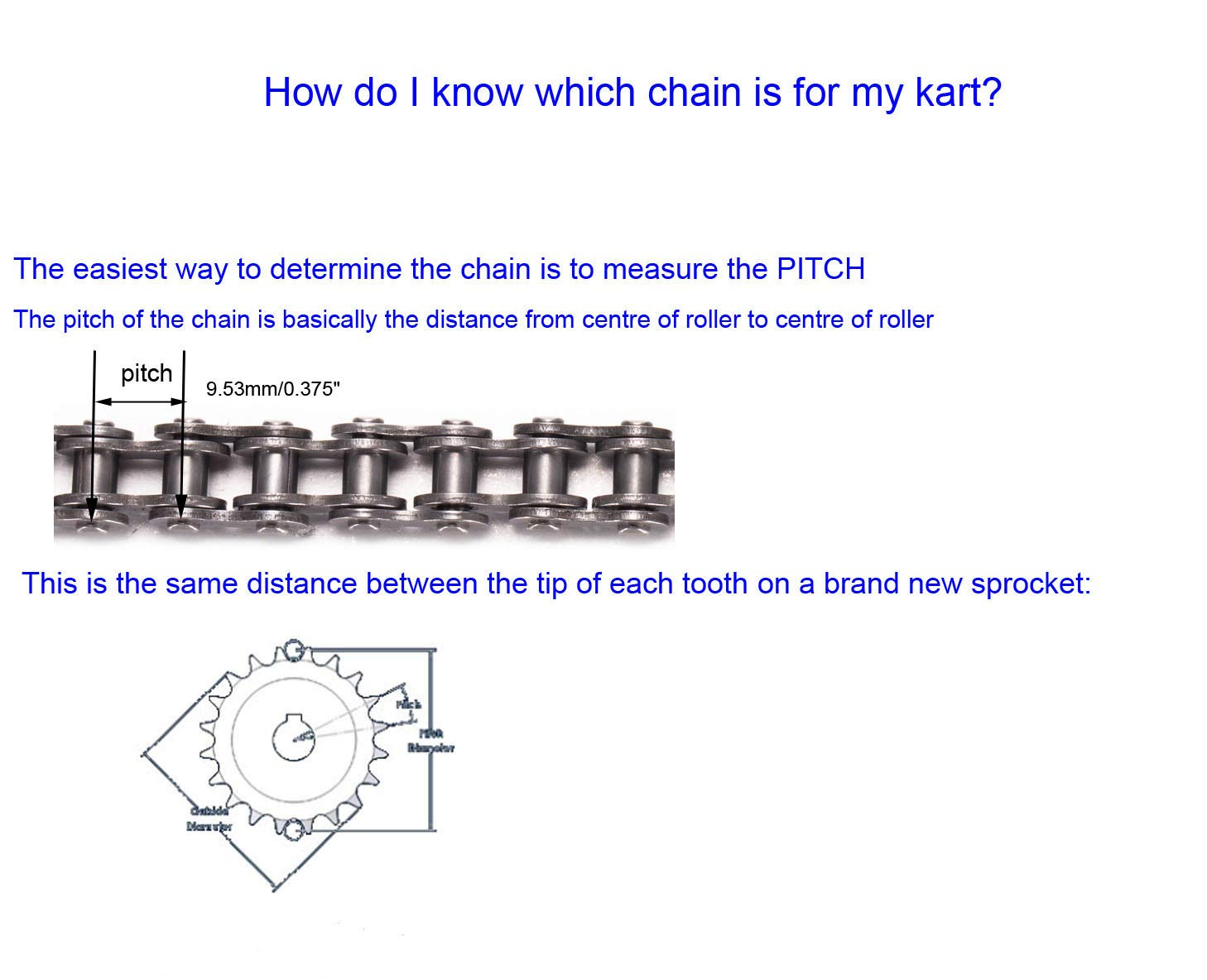 35 Roller Chain 10 Feet with 2 Connecting Links