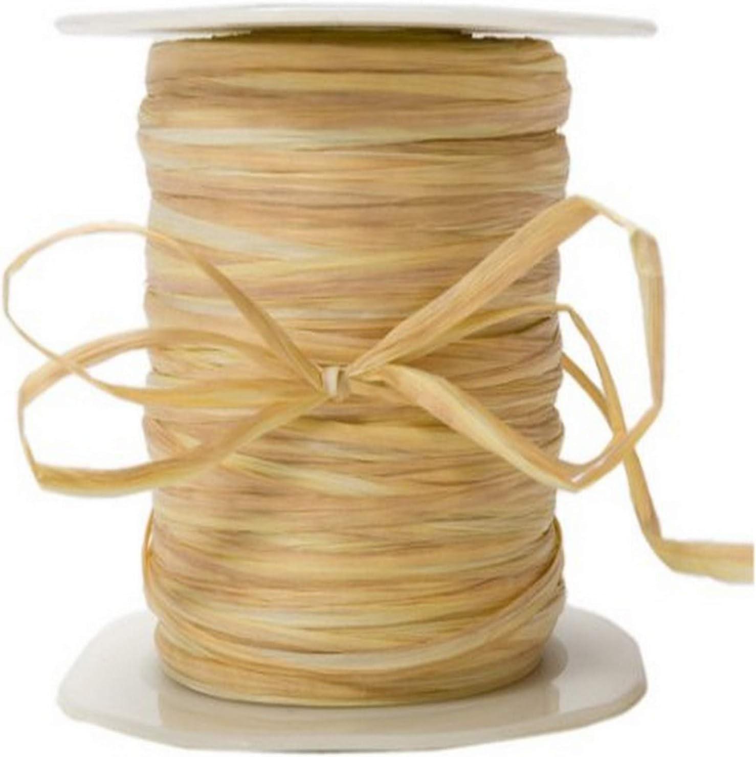 May Arts Ribbon Brown Paper Rafia