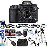 Canon EOS 7D Mark II Digital SLR Camera with 18-135mm IS USM Lens [International Version] (Mega Bundle)