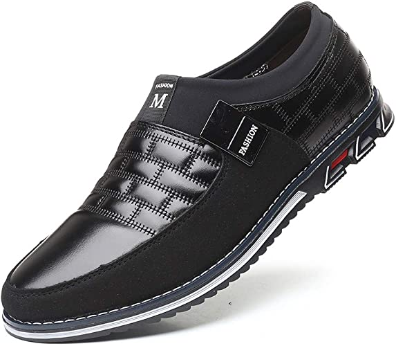 Mens Leather Lace Up Shoes Casual Suade Summer Comfort Fashion Loafers UK Size