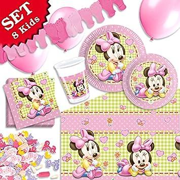 geburtstagsfee Baby Minnie Mouse Fiesta Cumpleaños F. Niños ...