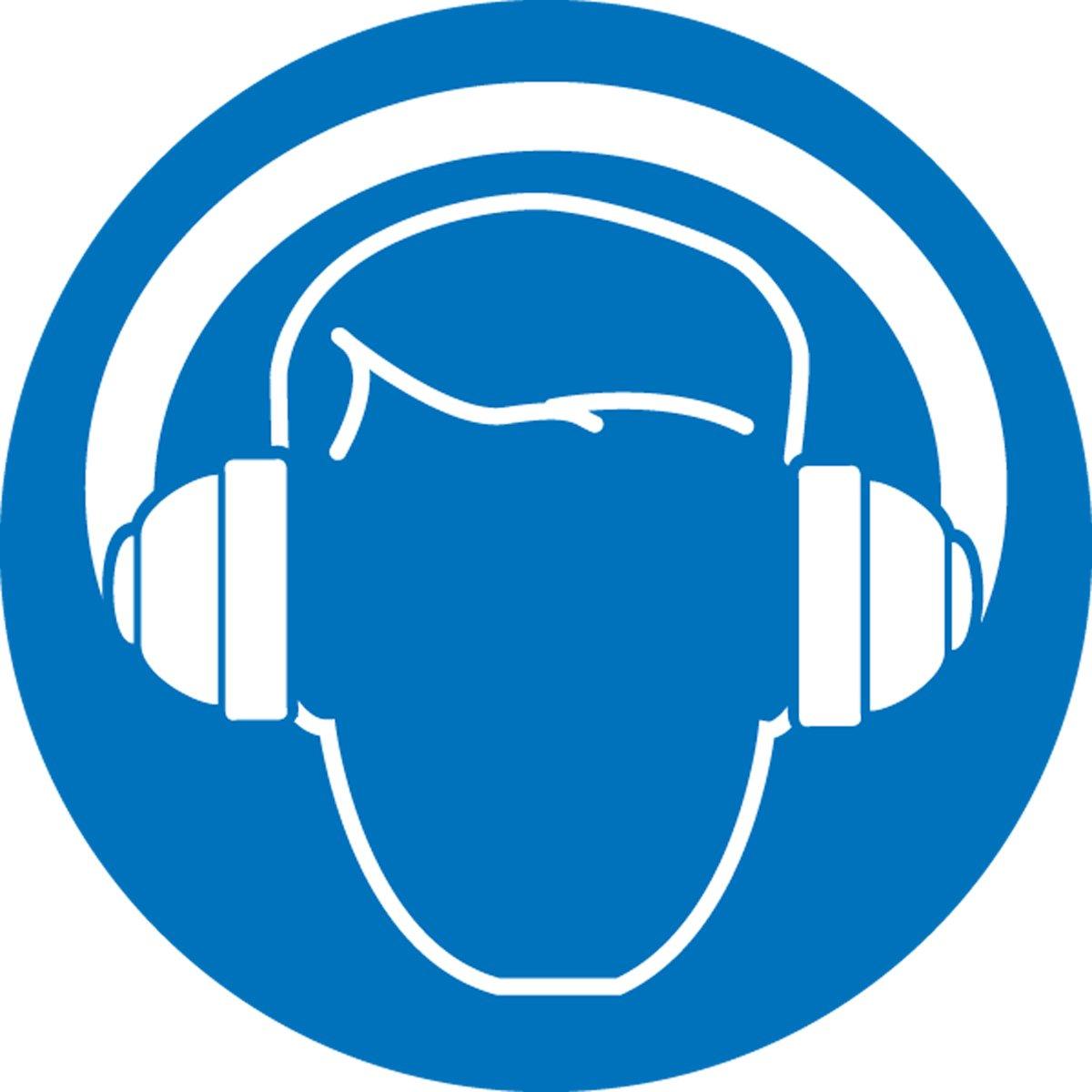 """Afbeeldingsresultaat voor wear hearing protection sign"""""""