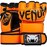 Venum Undisputed 2. MMA Gloves Skintex Leather, NEO Orange, Small