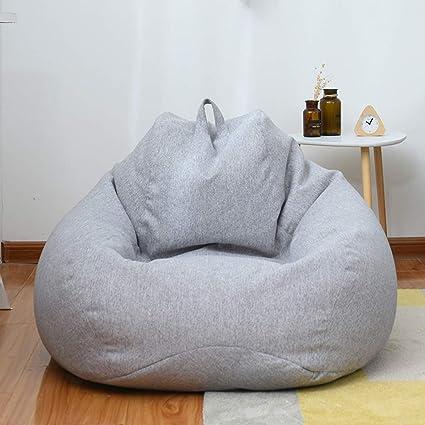 Amazon.com: WZPOIU Bean Bag Chair Indoor Or Outdoor Bean Bag ...