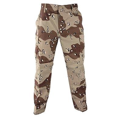 Amazon Com Genuine Army Us Gi 6 Color Desert Camo Pants Chocolate