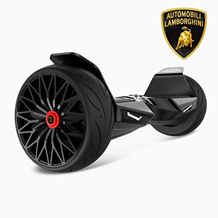 Amazon Com Twodots Lamborghini Hoverboard Black Sports Outdoors