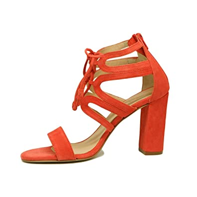 01b0479fd926 PEDRO MIRALLES Women s 19080 Sandals inAnte Orange Suede Leather.  Amazon.co .uk  Shoes   Bags