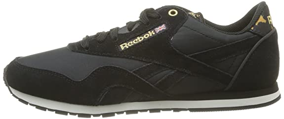 Reebok Cl Nylon Slim Exotic, Baskets Mode Femme