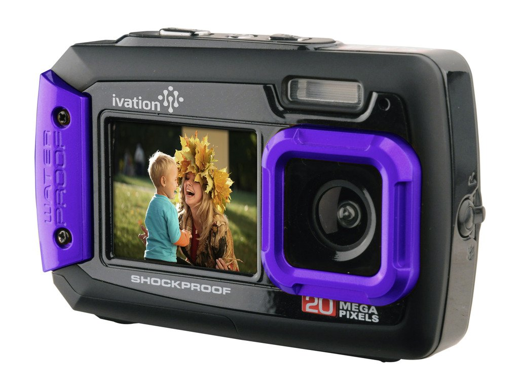 Amazon.com : Ivation 20MP Underwater Shockproof Digital Camera ...