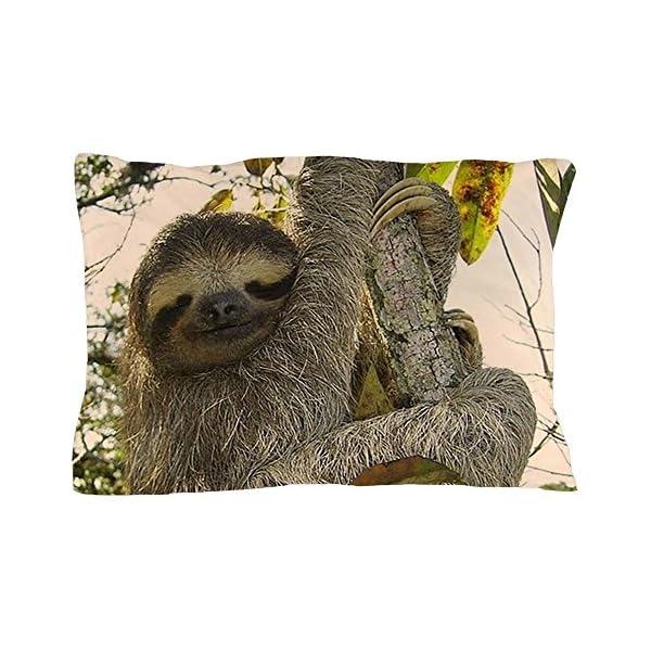 Cafepress Sloth Standard Size Pillow Case, 20&Quot;X30&Quot; Pillow Cover, Unique Pillow Slip -