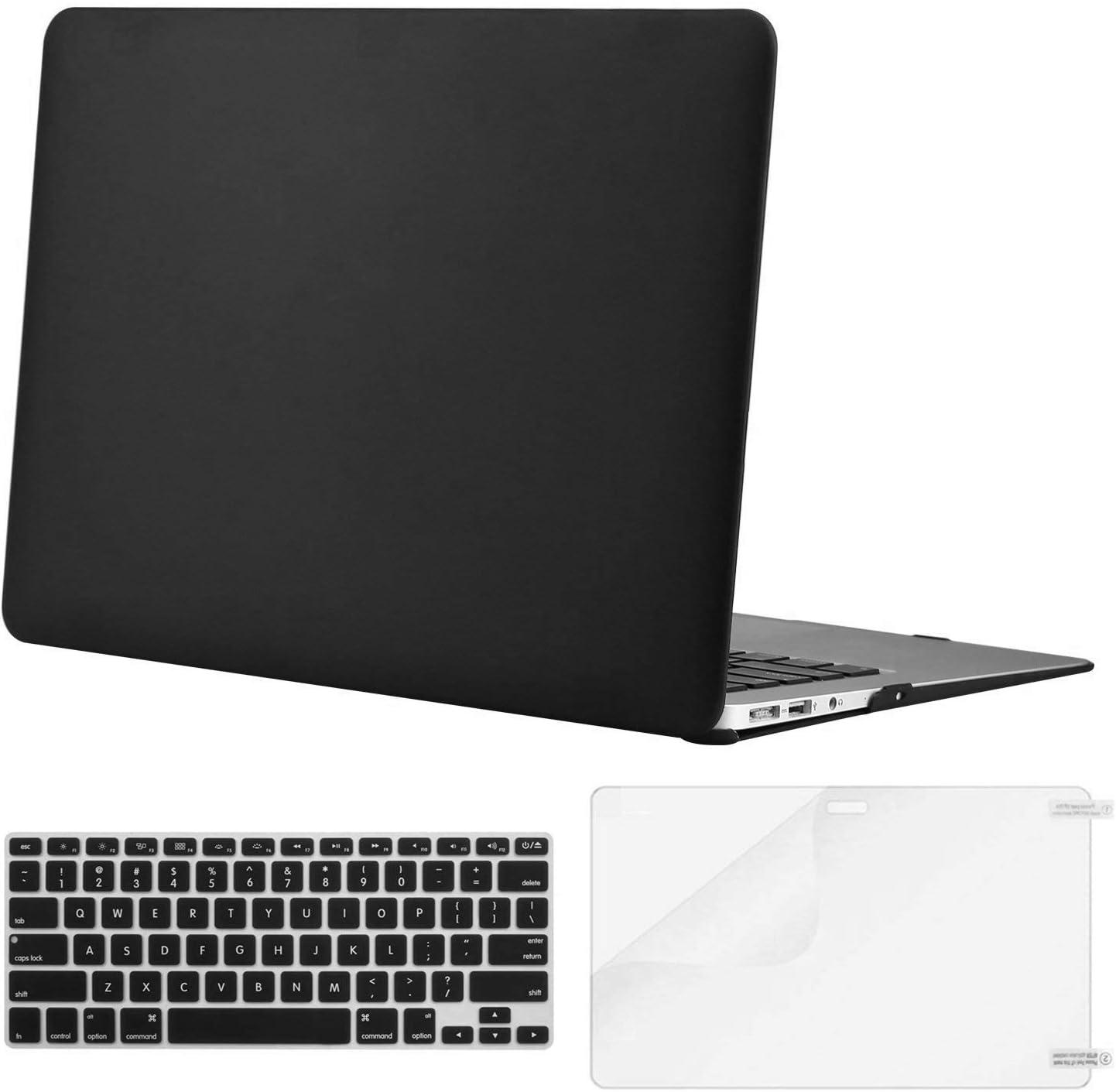Lacdo Laptop Hard Case Shell Cover, Black