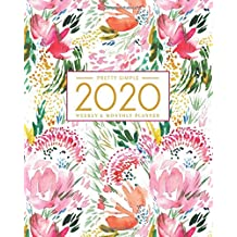 2020 Planner Weekly and Monthly: Jan 1, 2020 to Dec 31, 2020: Weekly & Monthly Planner + Calendar Views | Inspirational Quotes and Watercolor Floral Cover (2020 Pretty Simple Planners)