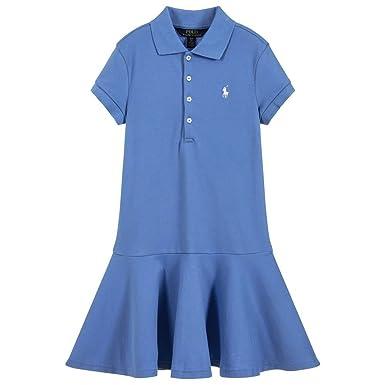 Amazon.com  Ralph Lauren Girls Pink Polo Dress  Baby 190dadfa6