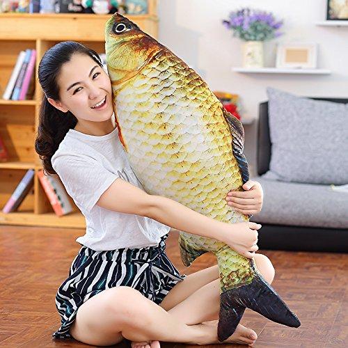 YunNasi Carp Plush Pillow Stuffed Animal Toy ()