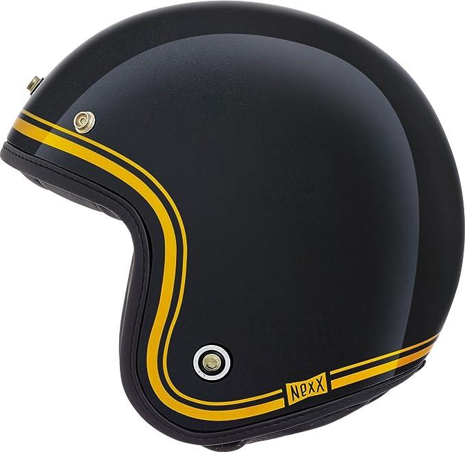 Motocicleta Nexx XG10 garaje Devon casco - negro Reino Unido: Amazon.es: Coche y moto