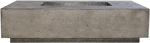 Prism Hardscapes Tavola 4 Concrete Gas Fire Pit PH-408-4NG