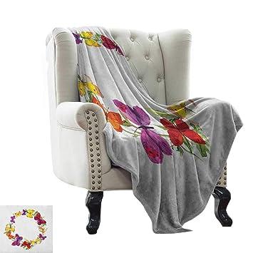 Amazon.com: BelleAckerman Yoga Blanket Butterfly,Butterfly ...