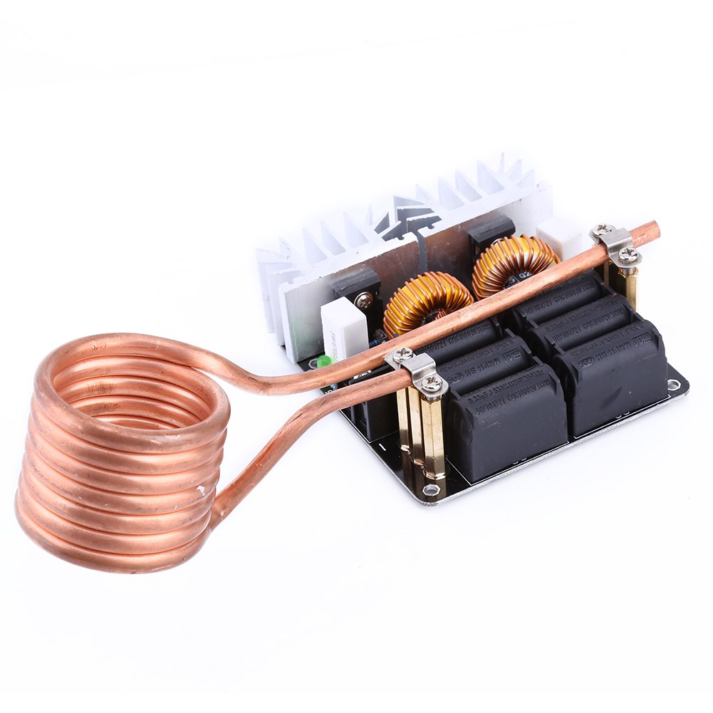 Yosoo 1000w Zvs Low Voltage Induction Heating Board Simple Heater Circuit Module Tesla Coil 12v 48v Flyback Driver Diy Home Improvement