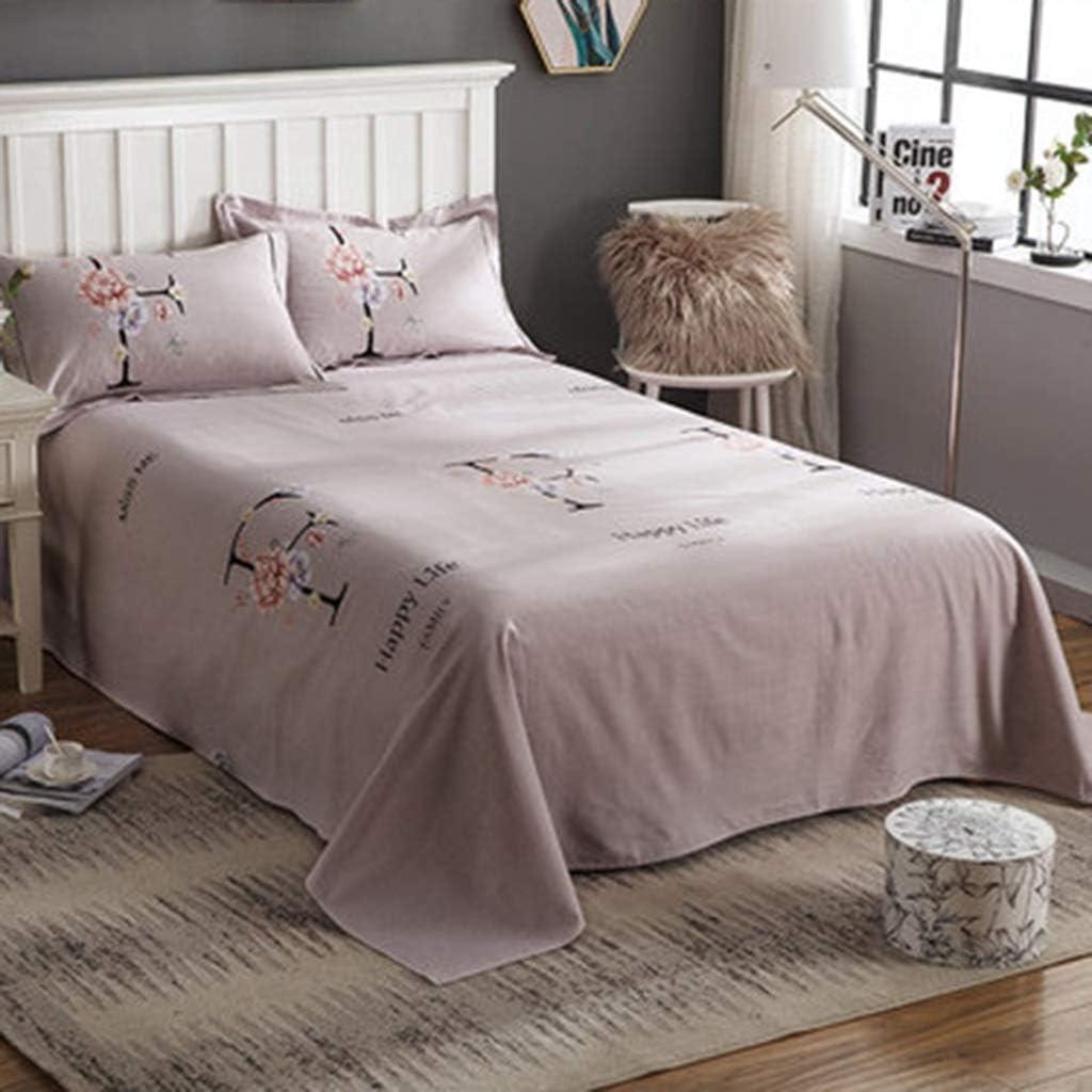 DQMSB Edredones de algodón Cepillado Láminas del Dormitorio Individuales Dobles engrosadas 1.2/1.35 m (Color : G, Size : 160X230cm): Amazon.es: Hogar