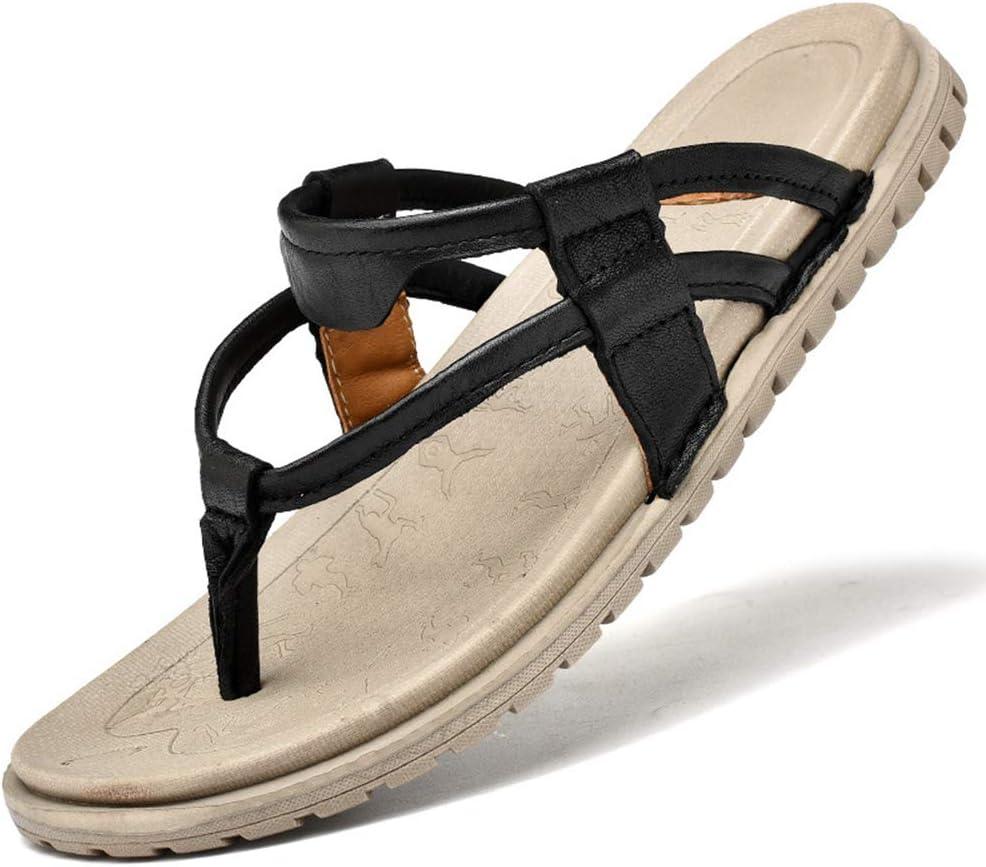 Sandalias Ortopédicas Chanclas de Tiras Elegantes para Hombre Zapatillas de Confort para Hombre con Arco para Pies Planos y Fascitis Plantar, Espolón en el talón