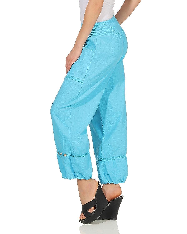 ZARMEXX Pantaloni da Donna in Lino Pantaloni Estivi Pantaloni semplici di Base