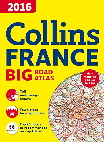 (2016 Collins France Big Road Atlas )