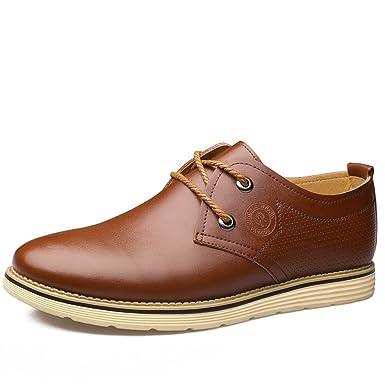 Mode Herrenschuhe England Runder Kopf Freizeitschuhe Einzelne Schuhe Herren  Spitzenschuhe  Amazon.de  Bekleidung 7857811e9d