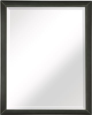 Amazon Com Led Backlit Mirror With Border Home Amp Kitchen