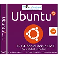 Ubuntu Linux 16.04 LTS 32 & 64 Bit DVD - Latest Long Term Support Release (DVD)