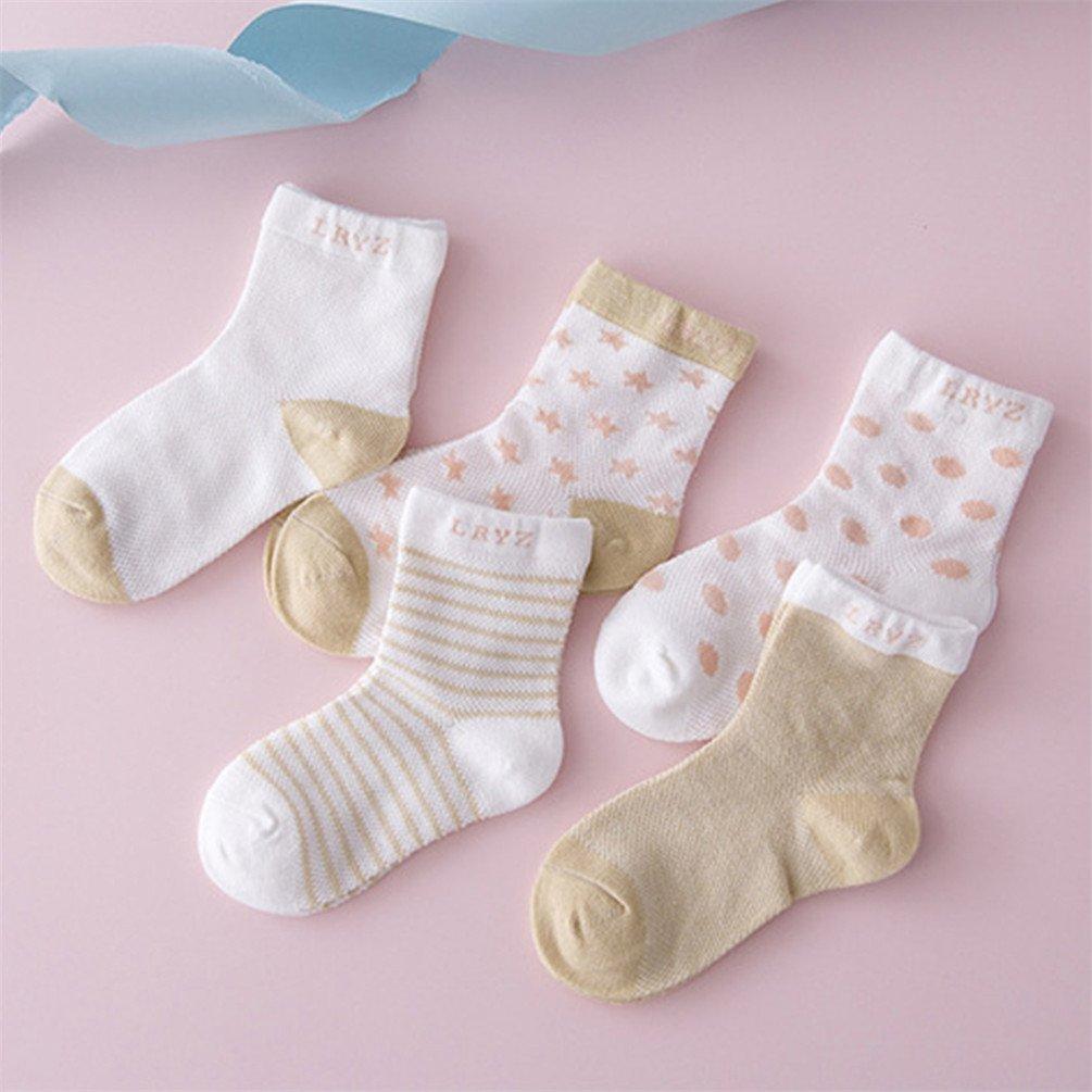 Little rock Boy Girl Fashion Cute Dot Star Casual Comfortable Soft Ankle Socks Warm Gift
