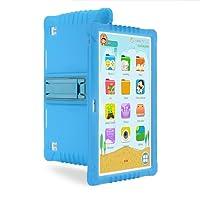 Tablette Enfant, SANNUO 10.1 Pouces Quad Core 3G Kids Tablette Tactile,Android 6.0 avec Logiciel Complet de Divertissement et d'apprentissage et Google Play.