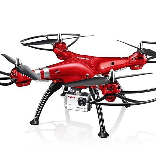 JohnnyLuLu Syma X8HG 8.0MP 1080P Cámara HD FPV RC Drone Aviones ...