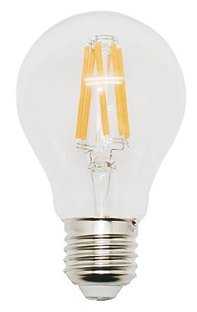 Garza Lighting - Bombilla LED de filamento 360º, luz cálida 3000K