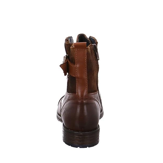 Mustang 2853508-301, Bottes pour Femme - marron - marron,