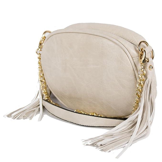 più foto 76dcc 1e906 Borsetta beige donna tracolla piccole borse da ragazza ...
