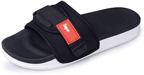 Buy SPADE CLUB Mens Velcro Slipper (10