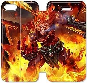 Funda iPhone 5C Funda Cuero, Klreng Walatina® PU Wallet Funda de piel cubierta para el Funda iPhone 5C Diseño por algunos fresca League Of Legends D2H8Do