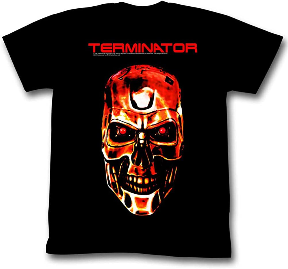American Classics Terminator Movies Redterm Adult Short Sleeve Shirts