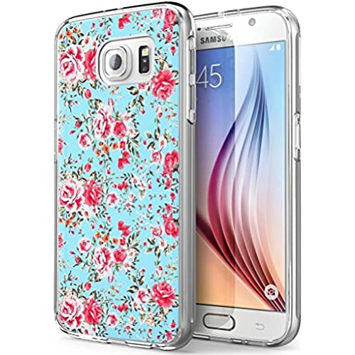 S7 Active Rose,Gifun Soft Clear TPU [Anti-Slide] and [Drop Protection] Protective Case Cover for Samsung Galaxy S7 Active W Red Rose Pattern Sales