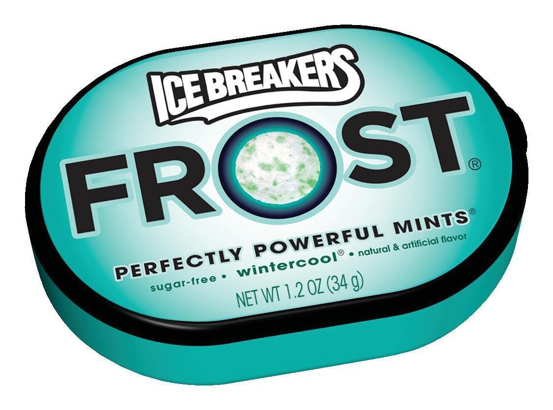 ICE BREAKERS Frost Sugar Free Mints, Wintercool, 1.2 Ounce (Pack of 12) by Ice Breakers